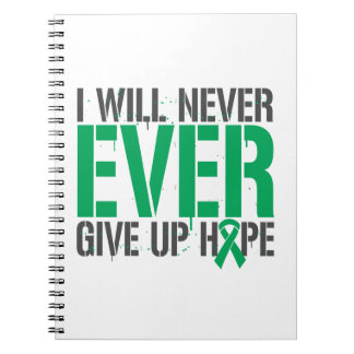Liver Disease I Will Never Ever Give Up Hope Journal