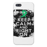 Liver Disease Keep Calm and Fight On iPhone 5 Cover