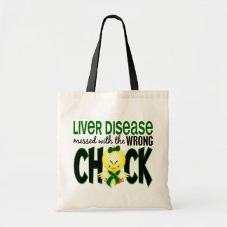Liver Disease Messed With The Wrong Chick Tote Bag