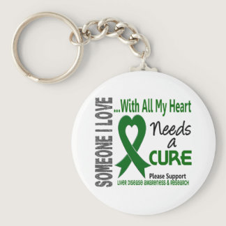 Liver Disease Needs A Cure 3 Keychain