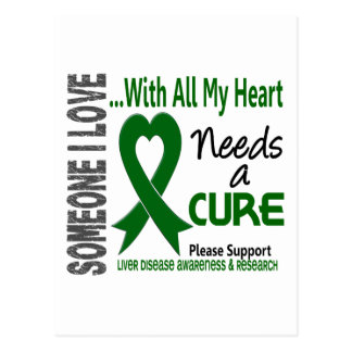 Liver Disease Needs A Cure 3 Postcard