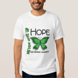 Liver Disease Never Give Up Hope Butterfly 4.1 Tees