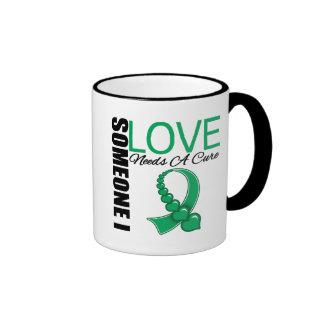 Liver Disease Someone I Love Needs A Cure Ringer Coffee Mug