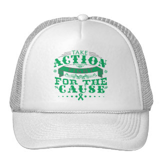 Liver Disease Take Action Fight For The Cause Trucker Hat