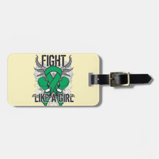Liver Disease Ultra Fight Like A Girl Luggage Tag