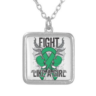 Liver Disease Ultra Fight Like A Girl Necklace