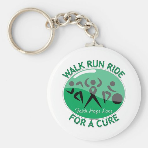 Liver Disease Walk Run Ride For A Cure Key Chains