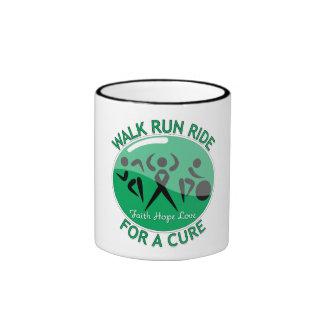 Liver Disease Walk Run Ride For A Cure Ringer Coffee Mug