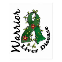 Liver Disease Warrior 15 Postcard