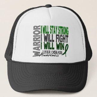 Liver Disease Warrior Trucker Hat