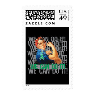 Liver Disease WE CAN DO IT Postage Stamps