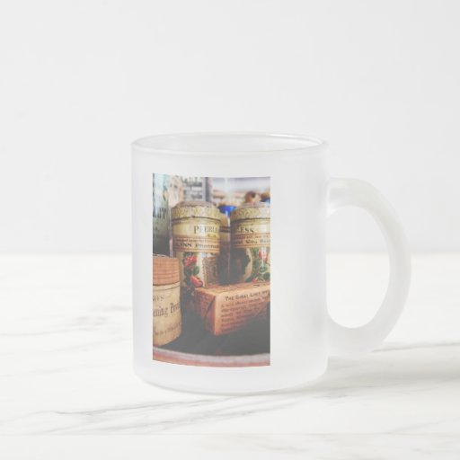 Liver Pills in General Store Coffee Mug