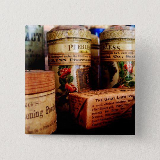 Liver Pills in General Store Pinback Button