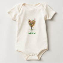 Liverland Baby Bodysuit