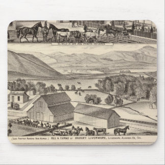 Livermore, Bardellini residences, farms, hotel Mouse Pad