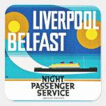 Liverpool - Belfast Ferry Stickers