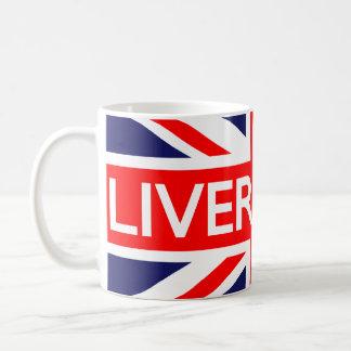 Liverpool : British Flag Coffee Mug