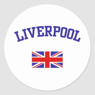 Liverpool Classic Round Sticker