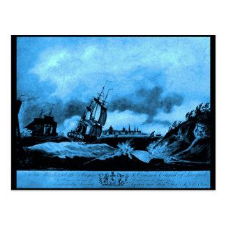 Liverpool de la roca de la perca, 1797 tarjetas postales