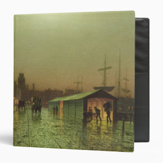 Liverpool Docks 3 Ring Binder