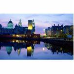 Liverpool en la noche, Inglaterra Esculturas Fotográficas