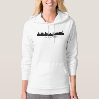 Liverpool England Cityscape Hoodie