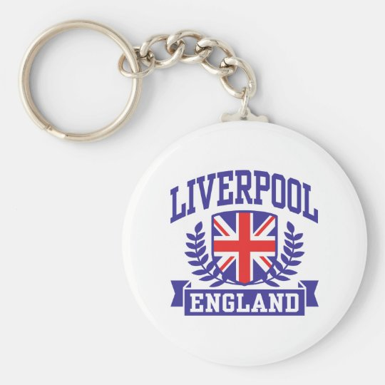 Liverpool England Keychain