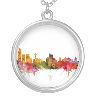 Liverpool England Skyline Necklaces