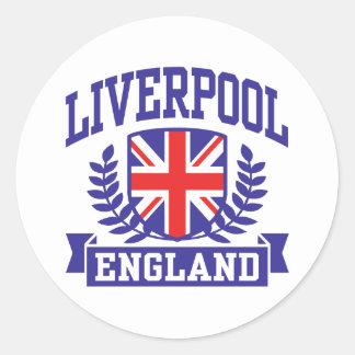 Liverpool England Stickers