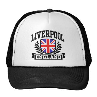 Liverpool England Trucker Hat