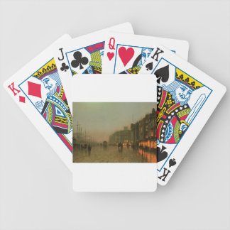 Liverpool from Wapping by John Atkinson Grimshaw Bicycle Playing Cards
