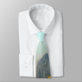 Liverpool from Wapping vintage painting Tie