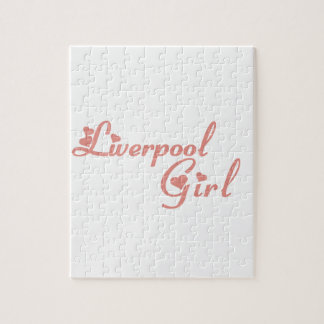 Liverpool Girl Jigsaw Puzzle