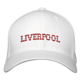 Liverpool Hat Embroidered Hat