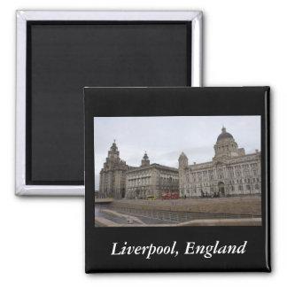 Liverpool Inglaterra Iman Para Frigorífico