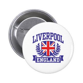 Liverpool Inglaterra Pin Redondo De 2 Pulgadas