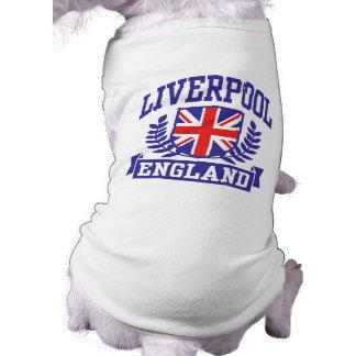 Liverpool Inglaterra Playera Sin Mangas Para Perro