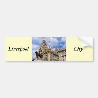 Liverpool - Liver Building Bumper Sticker