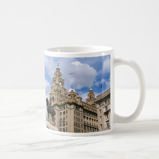 Liverpool - Liver Building Coffee Mugs