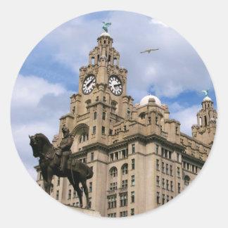 Liverpool - Liver Building Sticker