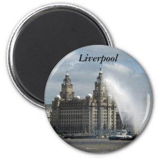 Liverpool Refrigerator Magnet