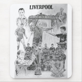 Liverpool Mouse Mat by Colin Carr-Nall