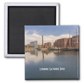 Liverpool Salthouse Dock Merseyside Travel Photo Magnet