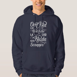 Liverpool Scouse Dialect for Man Slang Hoody