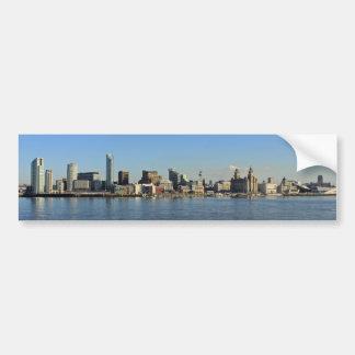 Liverpool Skyline Bumper Sticker