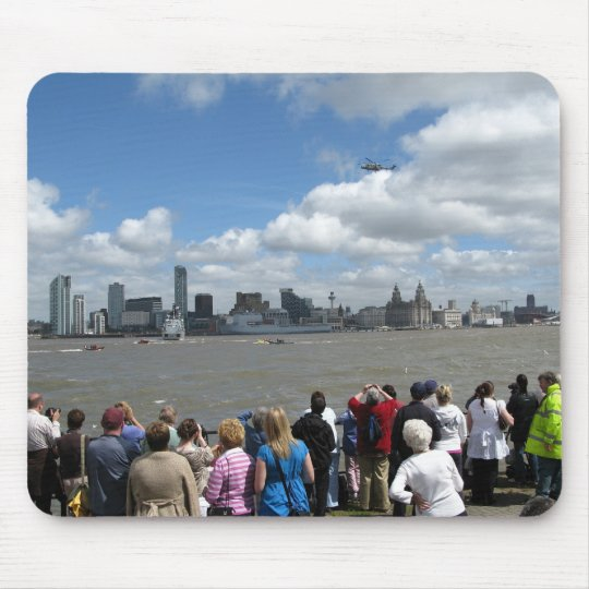 Liverpool Skyline Mouse Pad