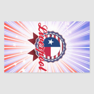 Liverpool, TX Rectangular Sticker