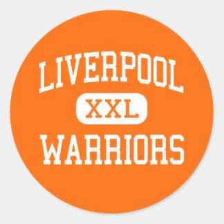 Liverpool - Warriors - High - Liverpool New York Classic Round Sticker