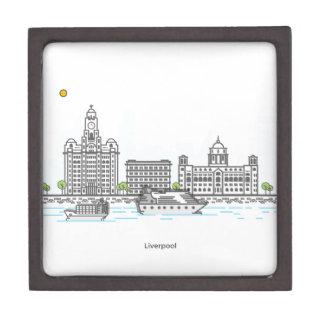 Liverpool Waterfront Keepsake Box
