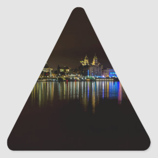 Liverpool Waterfront Triangle Sticker